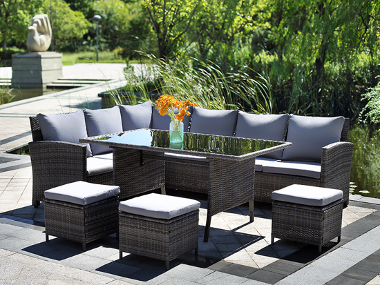 Home furniture modern outdoor garden rattan furniture wholesale