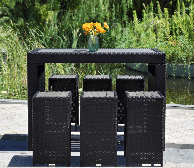 NINGBO KAIXING RATTAN BAR SET